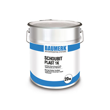 Bitumen-Rubber Based, Single Component, Super Elastic Liquid Membrane - SCHOUBIT PLAST 1K