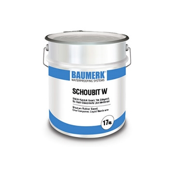 Bitumen-Rubber Based, One Component, Liquid Membrane - SCHOUBIT W