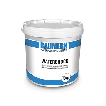 Cement Based, Fast Setting, Waterproofing Material (Waterplug) - WATERSHOCK