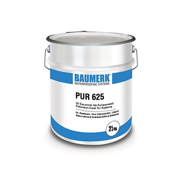 Polyurethane Based, UV Resistant, One Component, Waterproofing Material - PUR 625
