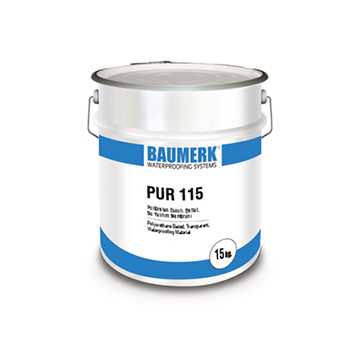 Polyurethane Based, Transparent, Waterproofing Material - PUR 115