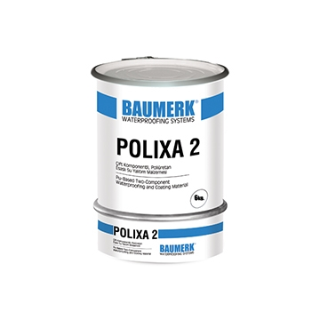 Polyurethane Based, Waterproofing Material for Potable Water Tanks - POLIXA 2