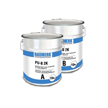 Polyurethane - Bitumen Based, Two Component, Liquid Waterproofing Material - PU-B 2K
