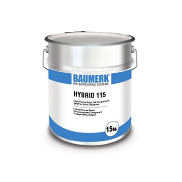 Hybrid Polymer Based, One Component, Transparent Waterproofing Material - HYBRID 115