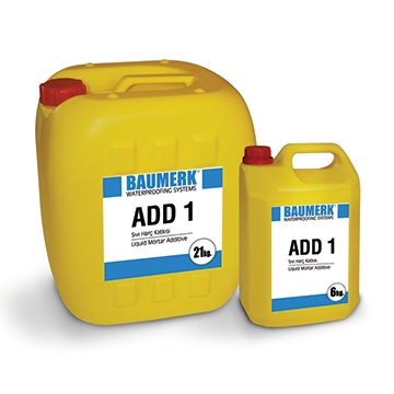 Waterproofing Admixture for Concrete and Mortar - ADD 1