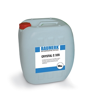 Crystalline Waterproofing Liquid Concrete Admixture - CRYSTAL C 320