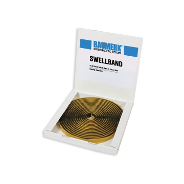 Bentonite Based, Swelling Waterstop - SWELLBAND