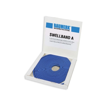 Acrylic Polymer Based, Swelling Waterstop - SWELLBAND A