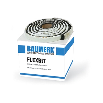 Bituminous, Elastic Waterstop Tape - FLEXBIT