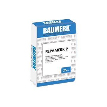 Cement Based, Repair Mortar and Finishing Coat - REPAMERK 2