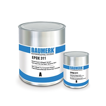 Epoxy Based, Two Component, Solvent Free, Adherence Between Old and New Concrete - EPOX 311