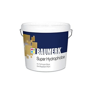 Super Hydrophobe Dirt Repellent Paint